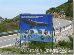 Croatia Online - Griffon Vulture Centar - Sign