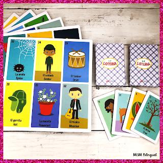 Bilingual Loteria | Bilingual Bingo