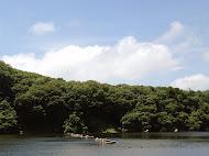 日研夏季釣り大会 広瀬Bロープの様子(2013.7.7)