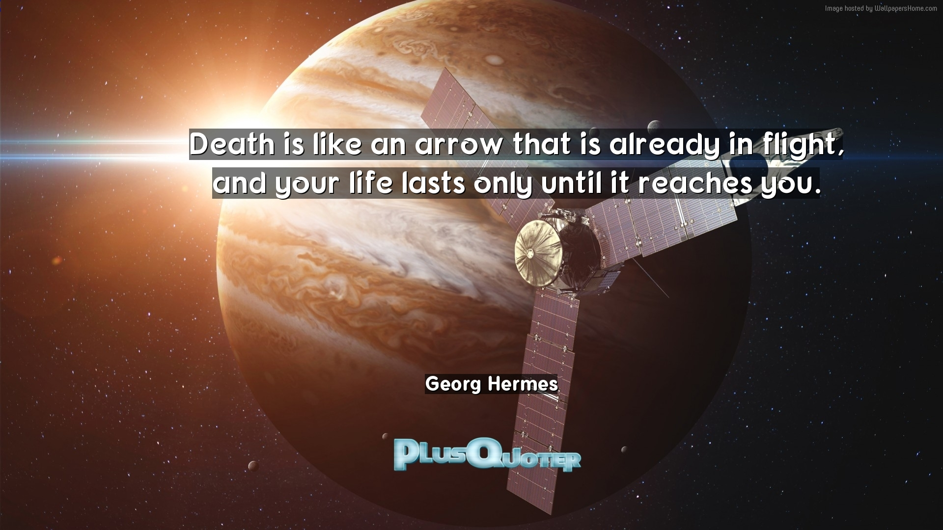 Arrow Quotes Life Death Is Like An Arrow That Is Already In Flight And Your Life