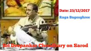 By Sri Deepankar Choudhury on Sarod
