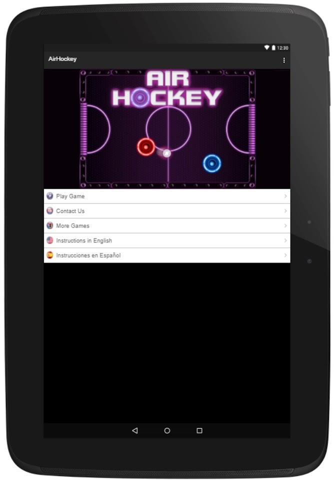 Air Hockey -Fast Paced Table-Sport Simulation Game Android 9