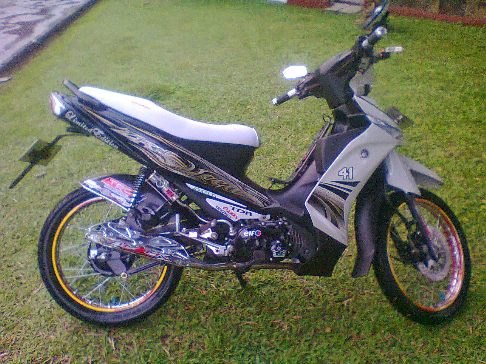 modifikasi motor vega zr ceper