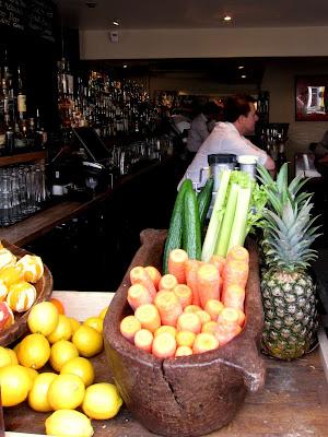 Bar on Walton Street in London