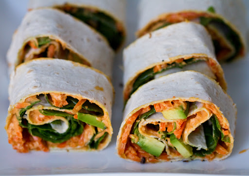 plantain poblano tofu wrap this mexican flavor infused wrap