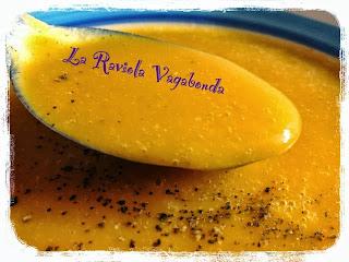 crema di carote con salsa di soia, pronta in 15 minuti