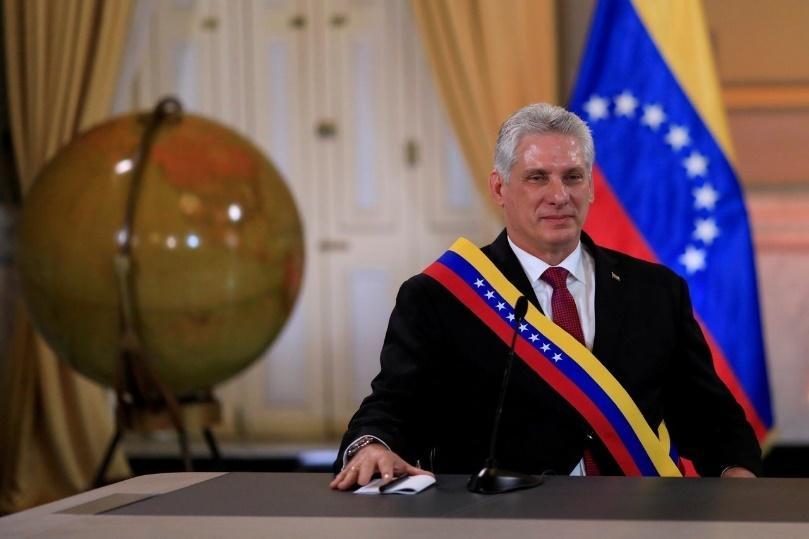 古巴新總統狄亞士-卡奈(Miguel Diaz-Canel)。 路透社