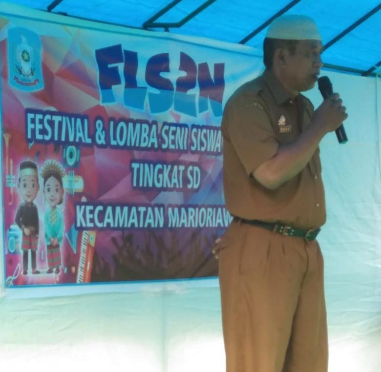 Koordinator UPT SPF Kecamatan Marioriawa adakan Seleksi  FLS2N