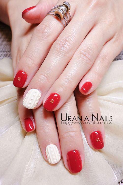 Winter Gel Nails Art Ideas
