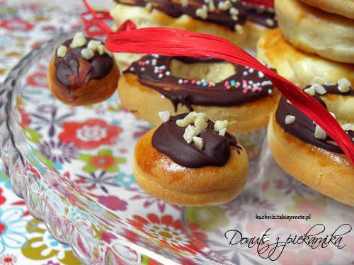 Niby donuts z piekarnika