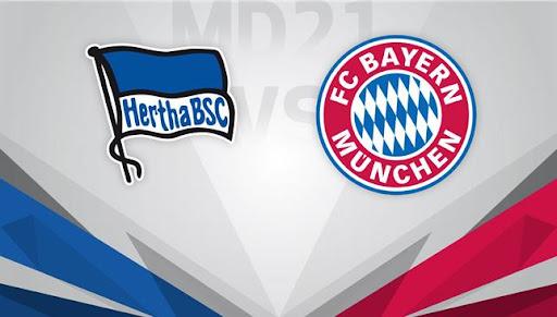 موعد مباراة بايرن ميونخ وهيرتا برلين في الدوري الألماني والقنوات الناقلة