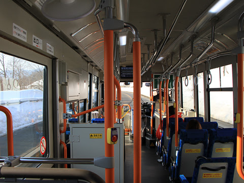 夕張鉄道 夕張支線代替バス 5059_03 車内