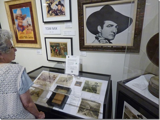 Tom Mix Display, Museum of Western Film History, Lone Pine CA