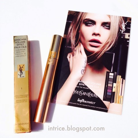 Yves Saint Laurent Volume Effet Faux Cils Mascara - photo credit: intrice.blogspot.com