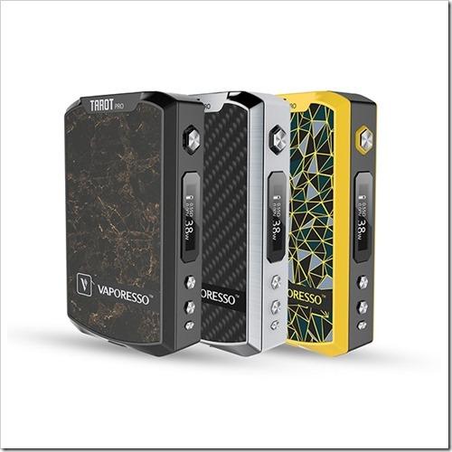 vaporesso tarot pro vape mod 1 5 - 【海外】「CoilArt AZEROTH RDTA - 24mm」「Vaporesso Tarot Pro TC 160W Box Mod」「Smok Alien 220W スターターキット」「IJOY Cigpet Ant TC 80w Box Mod」【Everzon新着】