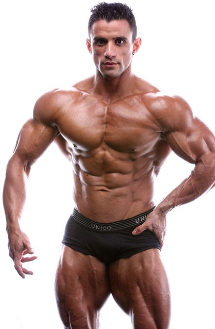 MuscleHunks Superstar Macho Nacho it's All About Building