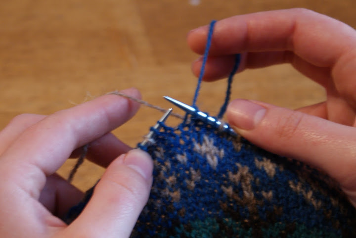 Fair Isle 102: Securing Long Floats | Osborn Fiber Studio