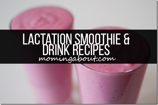 Lactation Drinks Smoothies Shakes