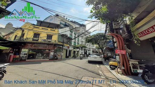 Bán khách sạn mặt phố Mã Mây
