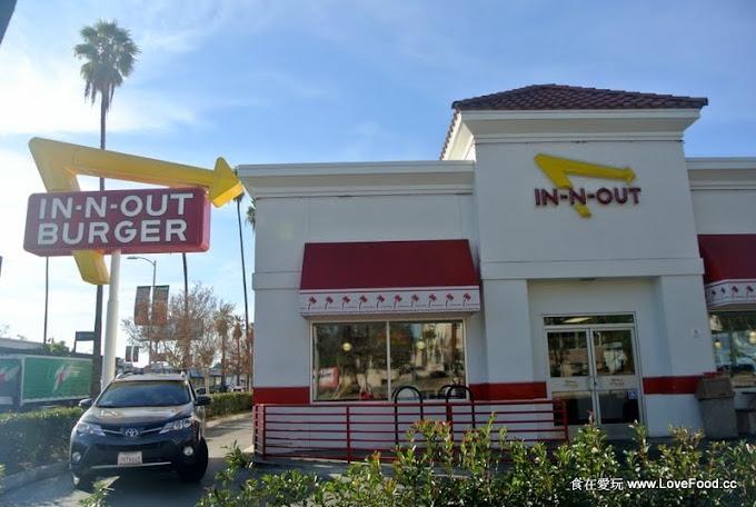 美國加州【In-N-Out Burger】薯條超多 汽水無限續