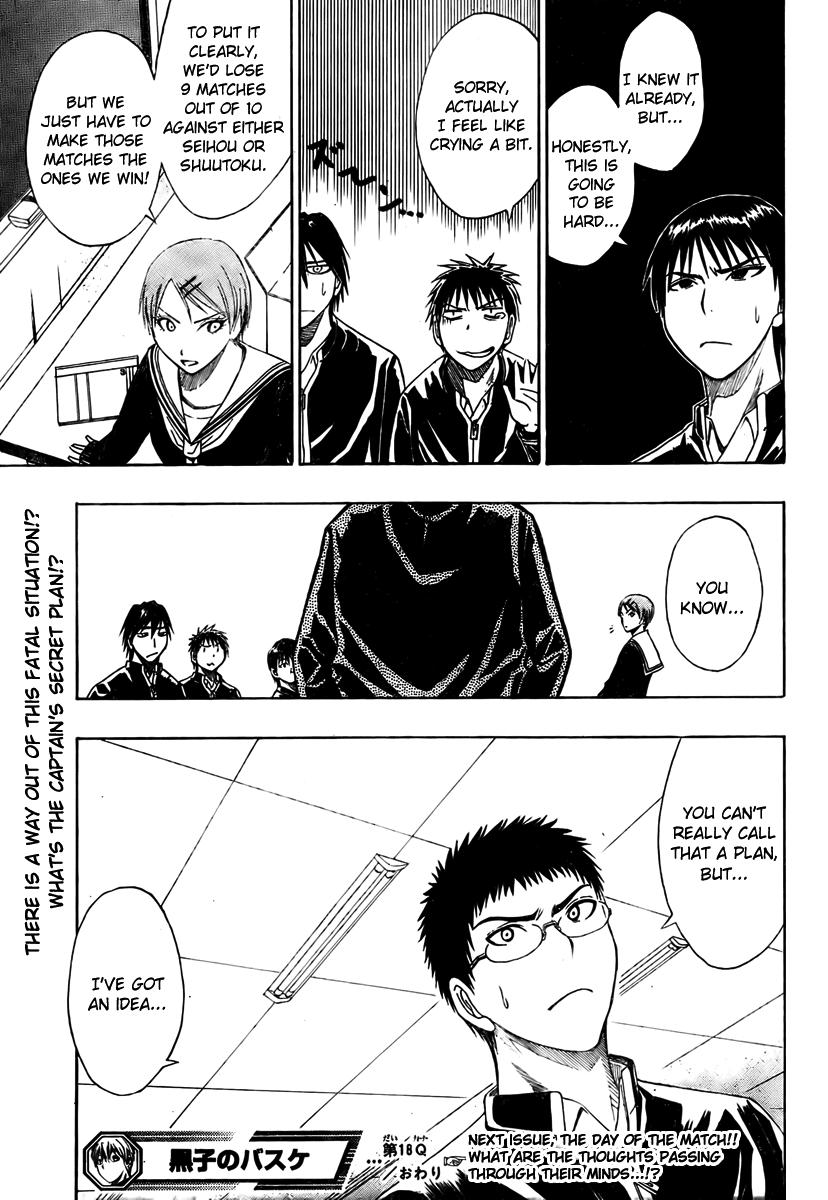 Kuruko no Basket Manga Chapter 18 - Image 19