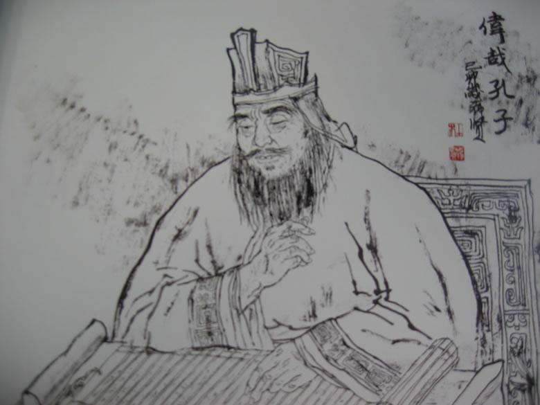 Confucius By Du Xixian, Confucius