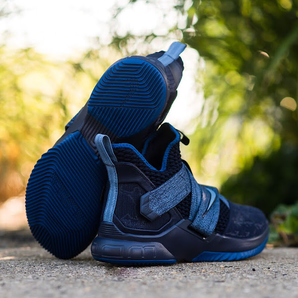 Soldier 12 Blackened Blue and LeBron 15 Low Blackout  Release Date