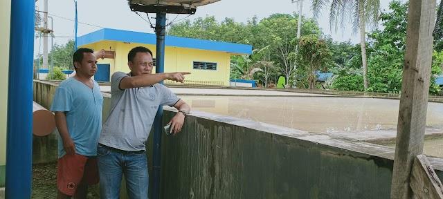 Pastikan Ketersediaan Air, Sobari Pantau IPA Karang Bintang