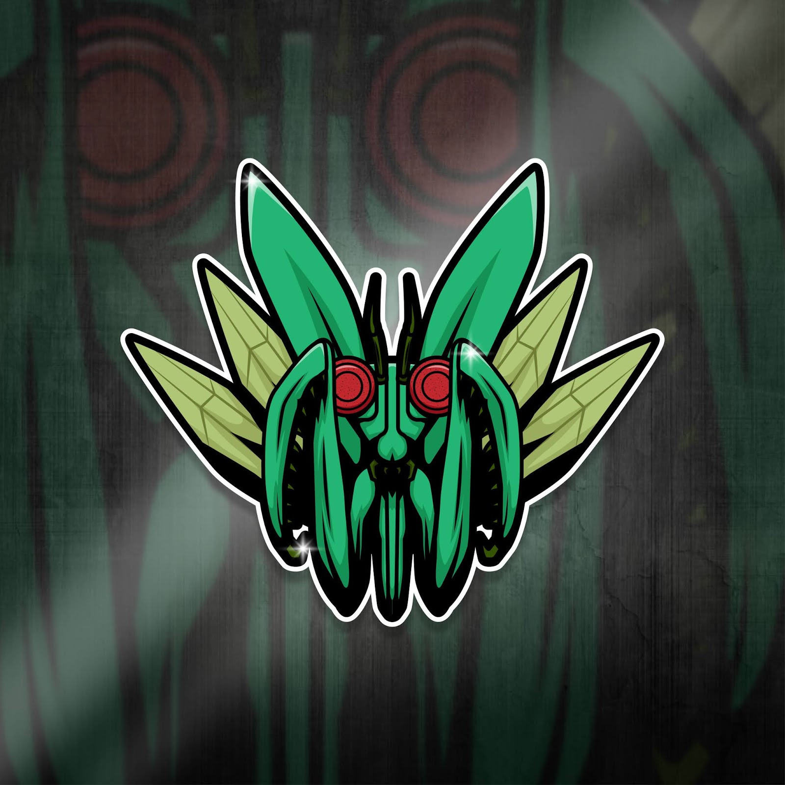 Esports Mascot Logo Team Mantis Squad Free Download Vector CDR, AI, EPS and PNG Formats