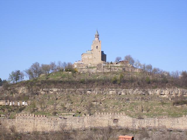 Veliko Tarnovo fortress, Bulgaria