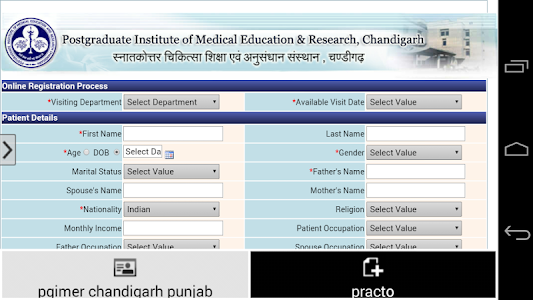 Pgimer Chandigarh Punjab screenshot 2