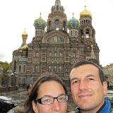 Visite de St Petersbourg