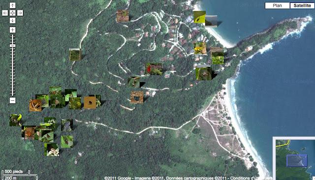 Localisation des photos : Pulso et Caçandoca