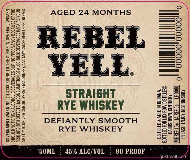 Rebel Yell 24-Month Straight Rye Whiskey