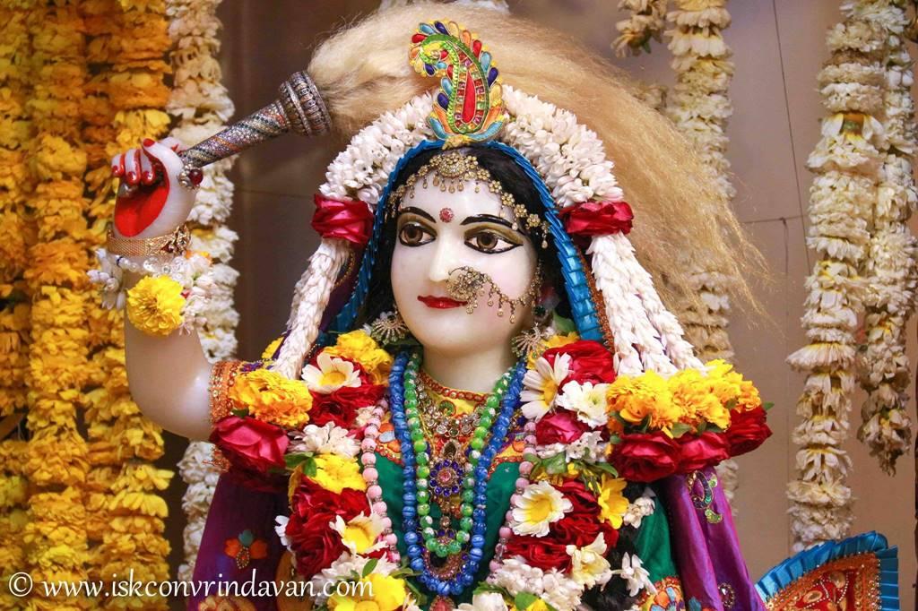 ISKCON Vrindavan Sringar Deity Darshan 28 Feb 2016 (2)