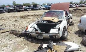 Wreck Porsche 914