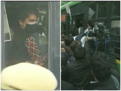 प्रियंका गांधी वाड्रा समेत अन्य कांग्रेस नेता हिरासत में लिए गए, राहुल गांधी को मिली राष्ट्रपति भवन जाने की इजाजत