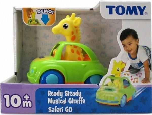 Đồ chơi Hươu con lái xe ô tô có nhạc và có đèn tuyệt đối an toàn
