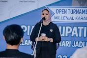 Pembukaan Turnamen Futsal Millenial U-20 Bupati Karawang Cup