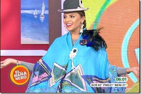 Televisión boliviana