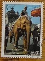 timbre Laos 007