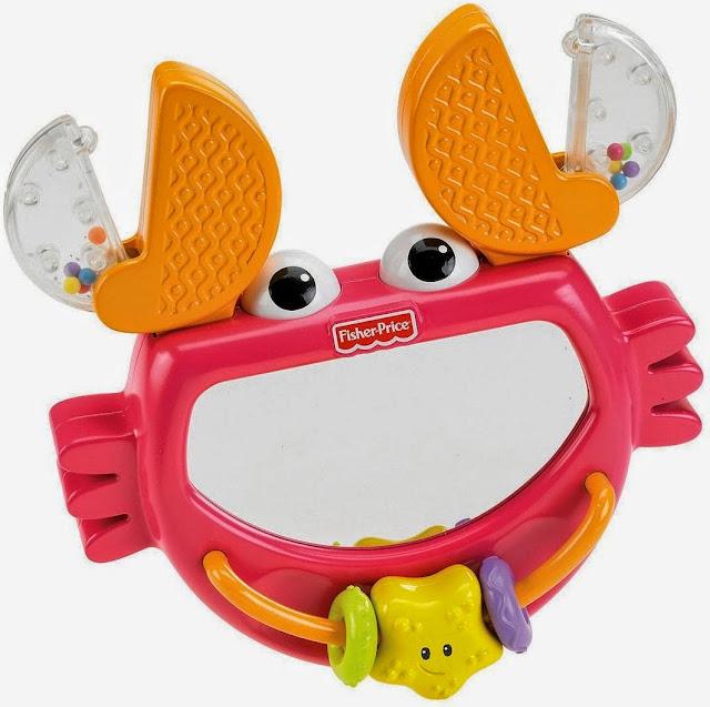 Đồ chơi và xúc xắc Gương soi Cua biển Clack & Play Crab là món đồ chơi rất bổ ích và lý thú