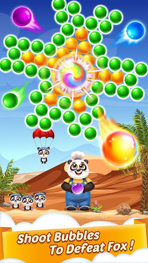 Bubble Shooter Cooking Panda 1.3.10 screenshots 3