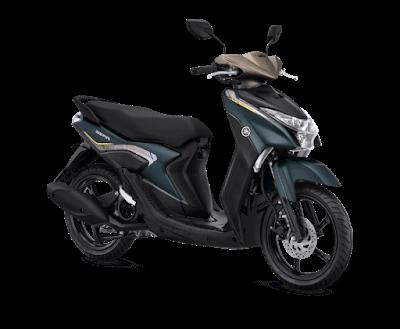 Letak Nomor Rangka dan Nomor Mesin Yamaha Gear 125
