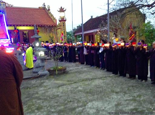 Lễ hội cầu đảo tại chùa Vân Quan xã Đoàn Lập