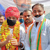 प्रदेशाध्यक्ष के पहली बार आगमन पर सरपंच सुनील मीणा ने किया स्वागत.
