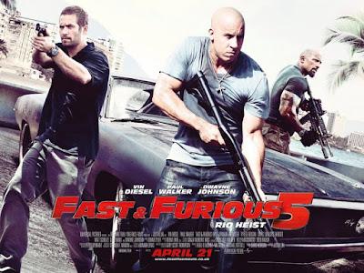Cinéma : quelques films vus et appréciés, Fast & Furious 5
