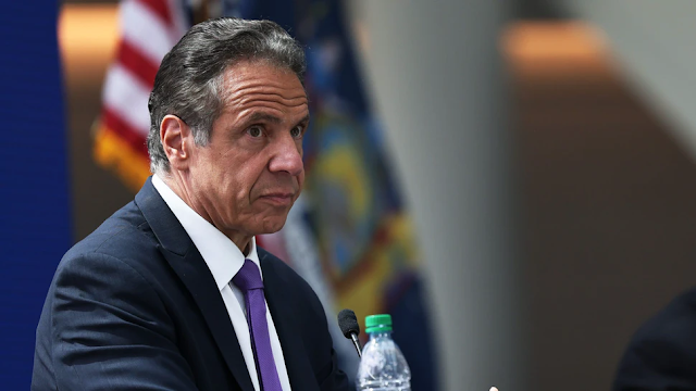Gov. Cuomo Fumes When Asked Whether He 'Profited Off The Backs Of Dead New Yorkers'