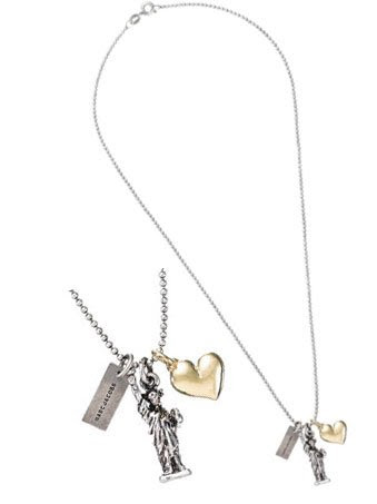 Marc By Marc Jacobs I Love NY Charm Necklace