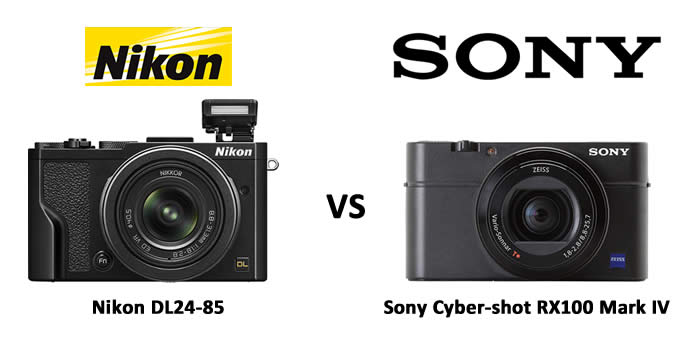 Choosing Between Nikon DL24-85 and Sony Cyber-shot RX100 Mark IV?